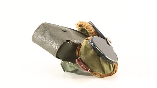 Used U.S. Military Surplus WWII Foster Grant Goggles 360 View - image 4 from the video