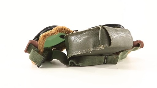 Used U.S. Military Surplus WWII Foster Grant Goggles 360 View - image 7 from the video