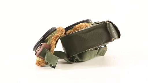 Used U.S. Military Surplus WWII Foster Grant Goggles 360 View - image 8 from the video
