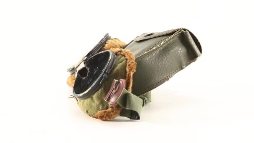 Used U.S. Military Surplus WWII Foster Grant Goggles 360 View - image 9 from the video