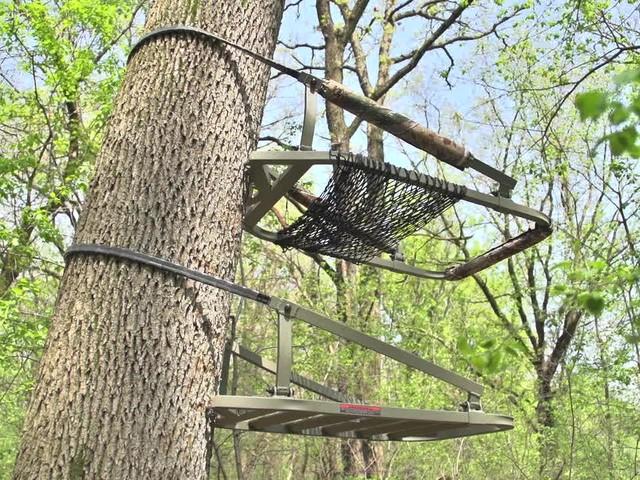 Api Outdoors 174 Aluminum Marksman Climber Tree Stand