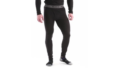 Guide Gear Men's Lightweight Base Layer Bottoms 360 View - image 1 from the video