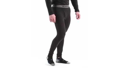 Guide Gear Men's Lightweight Base Layer Bottoms 360 View - image 2 from the video