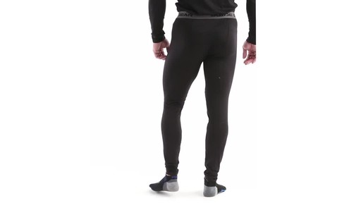 Guide Gear Men's Lightweight Base Layer Bottoms 360 View - image 6 from the video