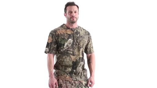 Guide Gear Men's 3T Camo Hunting Shirt Short Sleeve 360 View - image 1 from the video