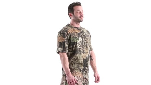 Guide Gear Men's 3T Camo Hunting Shirt Short Sleeve 360 View - image 2 from the video