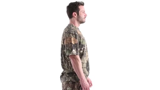 Guide Gear Men's 3T Camo Hunting Shirt Short Sleeve 360 View - image 3 from the video