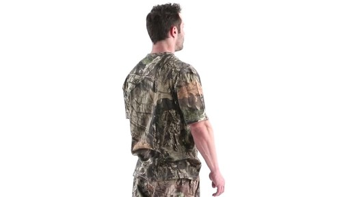 Guide Gear Men's 3T Camo Hunting Shirt Short Sleeve 360 View - image 4 from the video