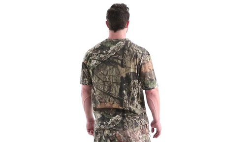 Guide Gear Men's 3T Camo Hunting Shirt Short Sleeve 360 View - image 5 from the video