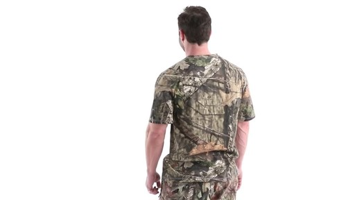Guide Gear Men's 3T Camo Hunting Shirt Short Sleeve 360 View - image 6 from the video