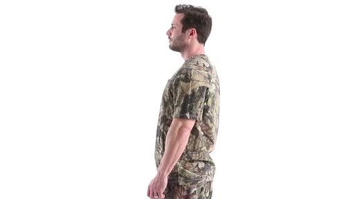 Guide Gear Men's 3T Camo Hunting Shirt Short Sleeve 360 View - image 8 from the video