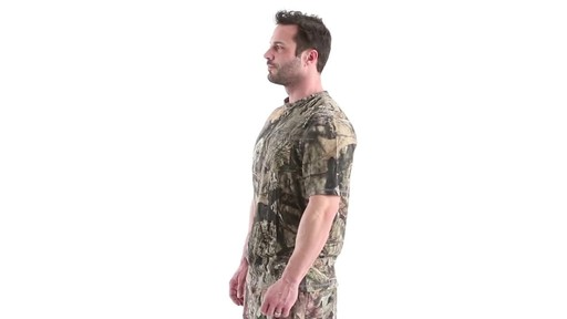 Guide Gear Men's 3T Camo Hunting Shirt Short Sleeve 360 View - image 9 from the video