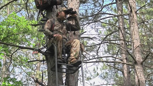 Guide Gear 15' Ladder Tree Stand - image 3 from the video