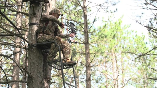 Guide Gear 15' Ladder Tree Stand - image 4 from the video