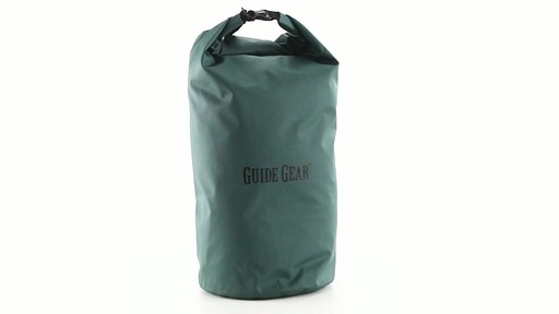 Guide Gear Roll-Top Waterproof Dry Bag 60 Liter 360 View - image 1 from the video