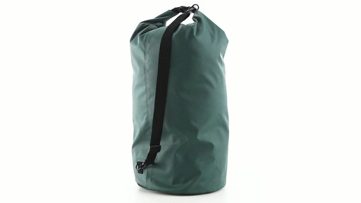 Guide Gear Roll-Top Waterproof Dry Bag 60 Liter 360 View - image 4 from the video