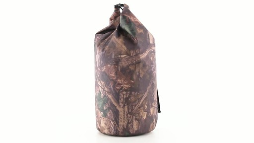 Guide Gear Roll-Top Waterproof Dry Bag 60 Liter 360 View - image 8 from the video