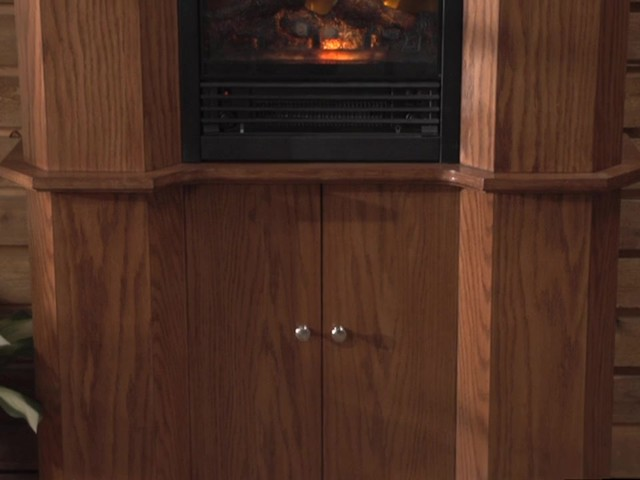 CASTLECREEK™ Gun Cabinet Fireplace - image 1 from the video