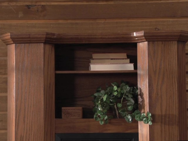 CASTLECREEK™ Gun Cabinet Fireplace - image 2 from the video
