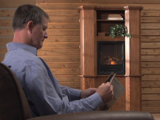 CASTLECREEK™ Gun Cabinet Fireplace - image 4 from the video