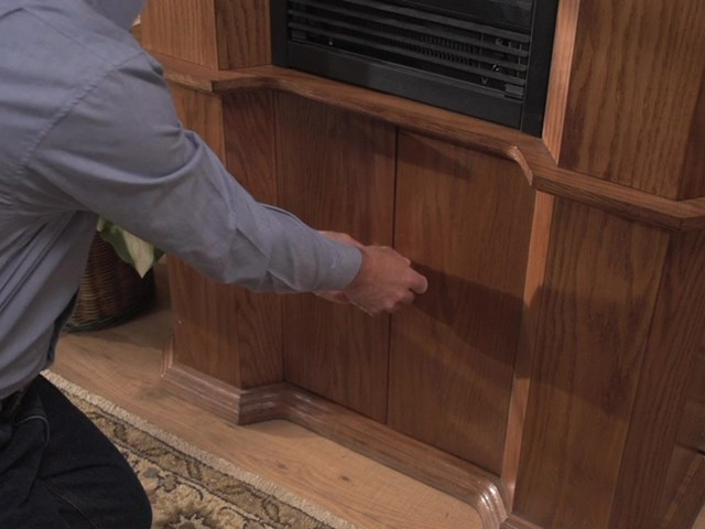 CASTLECREEK™ Gun Cabinet Fireplace - image 7 from the video