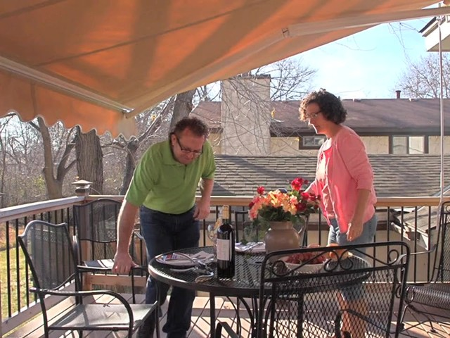 CASTLECREEK™ 12x10' Retractable Awning - image 1 from the video