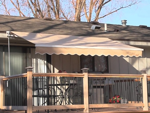 CASTLECREEK™ 12x10' Retractable Awning - image 10 from the video