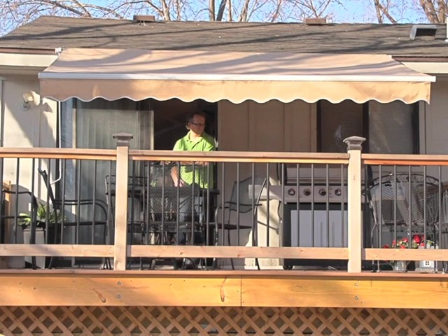 CASTLECREEK™ 12x10' Retractable Awning - image 2 from the video