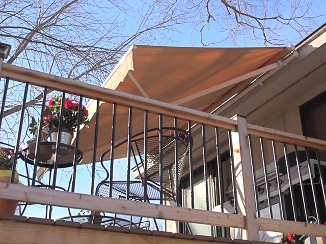 CASTLECREEK™ 12x10' Retractable Awning - image 3 from the video