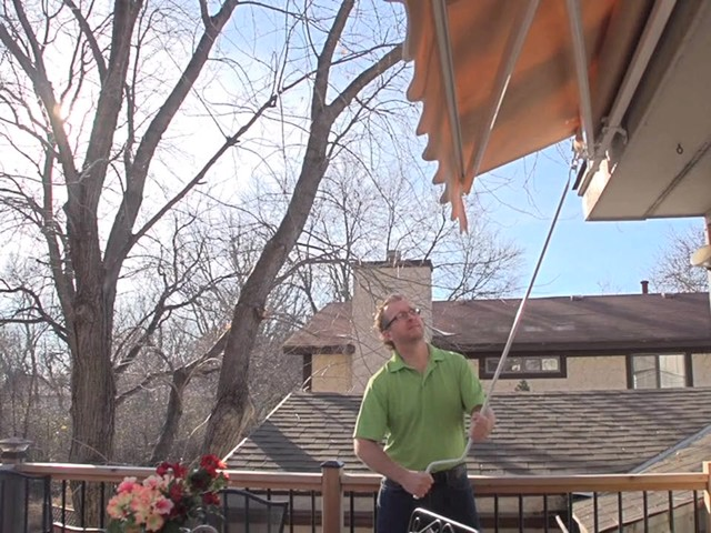 CASTLECREEK™ 12x10' Retractable Awning - image 4 from the video