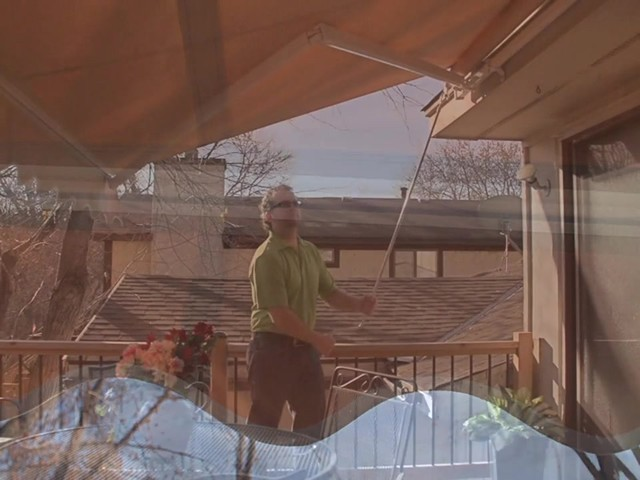 CASTLECREEK™ 12x10' Retractable Awning - image 6 from the video