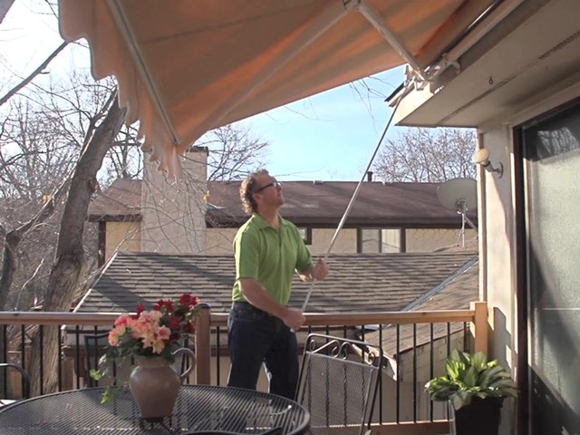 CASTLECREEK™ 12x10' Retractable Awning - image 7 from the video