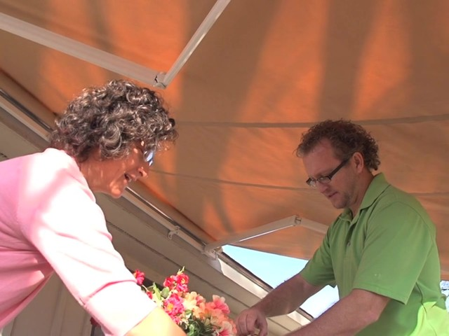 CASTLECREEK™ 12x10' Retractable Awning - image 8 from the video