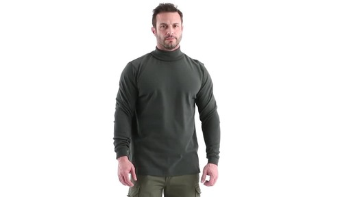 Guide Gear Men's Turtleneck Long-Sleeve Shirt 360 View - image 1 from the video