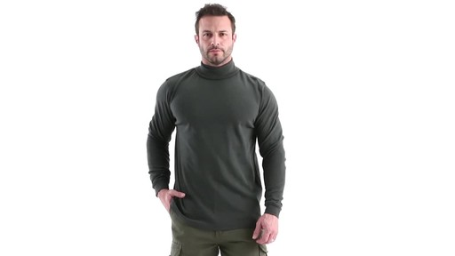 Guide Gear Men's Turtleneck Long-Sleeve Shirt 360 View - image 10 from the video