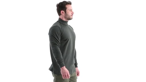 Guide Gear Men's Turtleneck Long-Sleeve Shirt 360 View - image 2 from the video