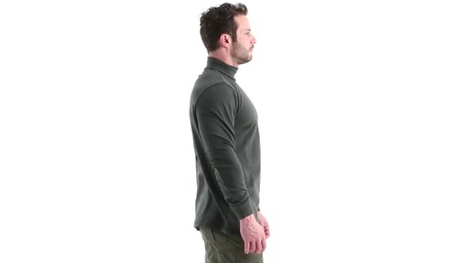 Guide Gear Men's Turtleneck Long-Sleeve Shirt 360 View - image 3 from the video