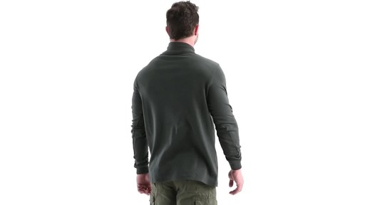Guide Gear Men's Turtleneck Long-Sleeve Shirt 360 View - image 4 from the video