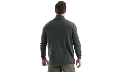 Guide Gear Men's Turtleneck Long-Sleeve Shirt 360 View - image 5 from the video