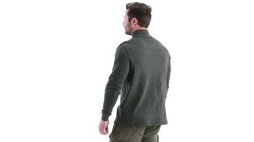 Guide Gear Men's Turtleneck Long-Sleeve Shirt 360 View - image 6 from the video