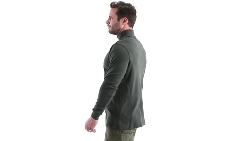Guide Gear Men's Turtleneck Long-Sleeve Shirt 360 View - image 7 from the video