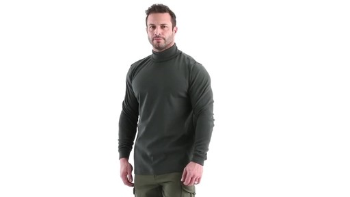 Guide Gear Men's Turtleneck Long-Sleeve Shirt 360 View - image 8 from the video