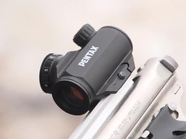 Pentax Waterproof Mini Red Dot Sight - image 10 from the video