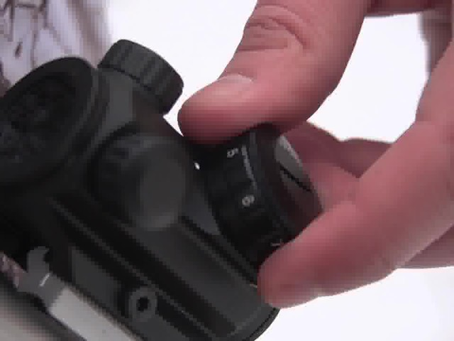 Pentax Waterproof Mini Red Dot Sight - image 5 from the video