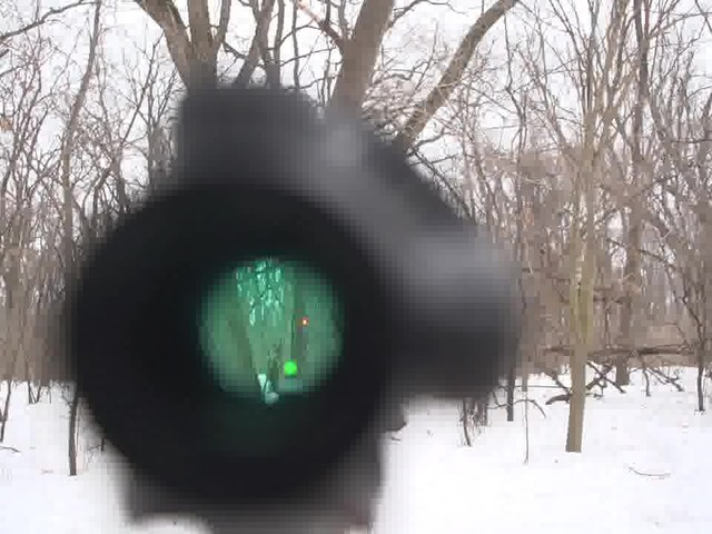Pentax Waterproof Mini Red Dot Sight - image 7 from the video