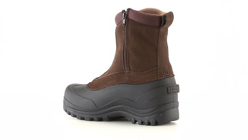 Guide Gear Men's Insulated Side Zip Winter Boots 600 Gram 360 View - image 10 from the video