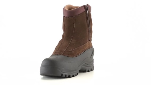 Guide Gear Men's Insulated Side Zip Winter Boots 600 Gram 360 View - image 2 from the video
