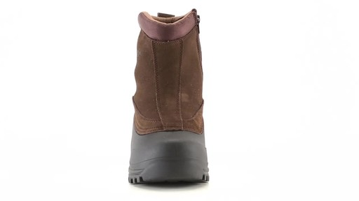 Guide Gear Men's Insulated Side Zip Winter Boots 600 Gram 360 View - image 3 from the video