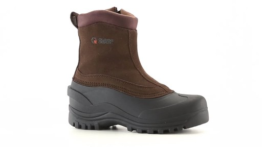 Guide Gear Men's Insulated Side Zip Winter Boots 600 Gram 360 View - image 5 from the video