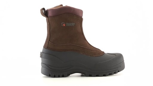 Guide Gear Men's Insulated Side Zip Winter Boots 600 Gram 360 View - image 6 from the video